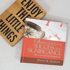 Choices Success & Significance Book Nido R Qubein